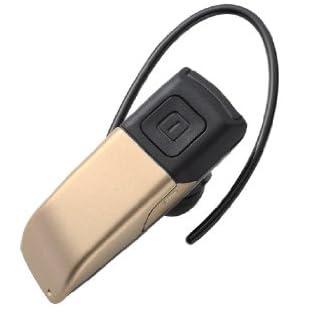 Logitec 【iPhone5にも対応】 Bluetoothヘッドセット ボイスガイド機能搭載 ゴールド LBT-MPHS04VGD
