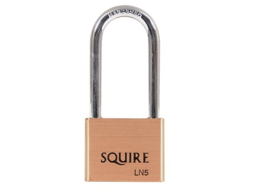 Henry Squire LN5/2.5 Lion Brass Padlock 65mm Shackle