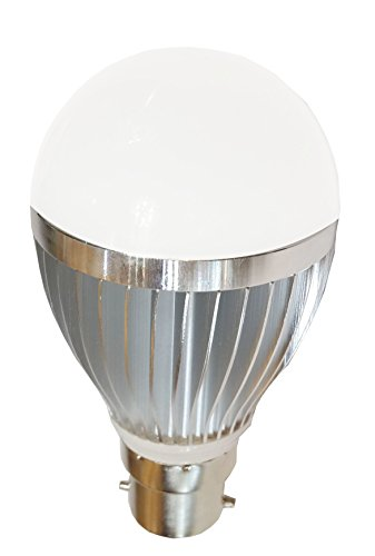 Aluminium Body 5W LED Bulb (Cool White)