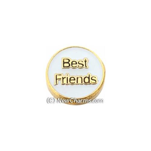 Best Friends Floating Locket Charm
