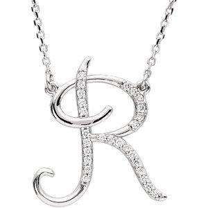 R Alphabet In Diamond Initial Letter R Diamond