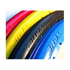 "SHOX Snap-On Wheelchair Tire - 24"" x 1"" (540mm) - Grey"
