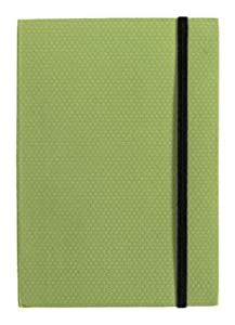 Xonex Simply Desk Journal, 4-1/8 X 5-3/4 Inches, Sprout Green Color, 1 Count (20110)