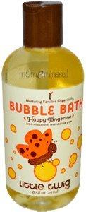 Little Twig Bubble Bath Tangerine, 8.5 Fluid Ounce
