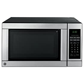 Ge 1 1 Cu Ft Capacity Countertop Microwave Oven Jes1142sj