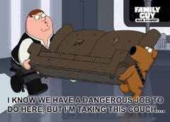Family Guy Blue Harvest I m Family Guy Blue Harvest Couch