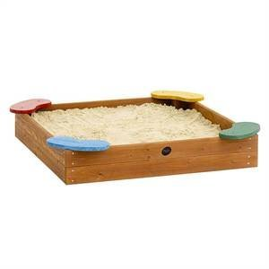 Plum J-bean Outdoor Play Wooden Sand Pit