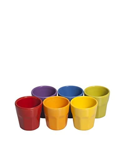 Enjoy Home Set Taza de Café 6 Piezas Trendy Multicolor