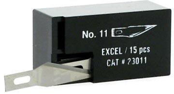 Excel Super Sharp #11 Blades In 15Pc Dispenser