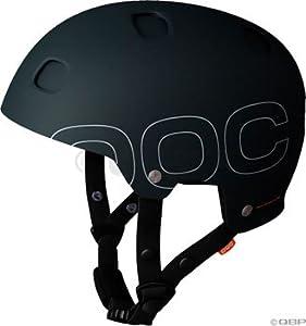 POC Receptor Plus Helmet: Black; MD