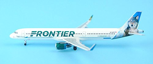 KNL HOBBY New: Aeroclassics American Frontier Airlines N704FR 1:400 A321/w (Frontier Airlines Model compare prices)