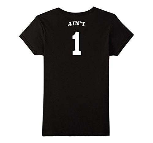 99 Problems and Ain't 1 Couples Matching Shirt Jersey - Female Small - Black (Problem 99 Aint 1 Couple compare prices)