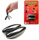 RATTLESNAKE EGGS SINGING PLAY STRONG MAGNETS 6CM BUZZ RATTLE SNAKE PARTY BAG
