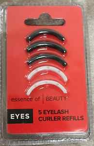 Essence of Beauty Eyelash Curler Refills - 3 Black, 2 White