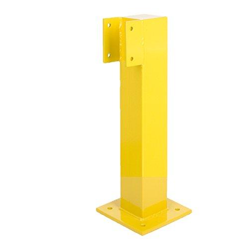 montant-dextremite-pour-rambarde-de-securite-acier-revetu-h-500-mm