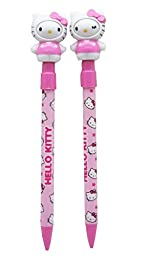New Cute Hello Kiitty Changing Face Ball Pen Set of 2