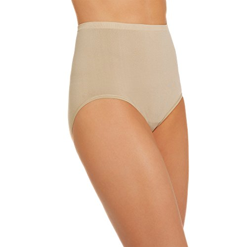 vanity-fair-womens-seamless-brief-panty-13210-damask-neutral-8