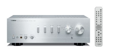 Yamaha AS500SI Integrated Amplifier, iPhone and iPod Compatable with 85w X 2 High Power Output