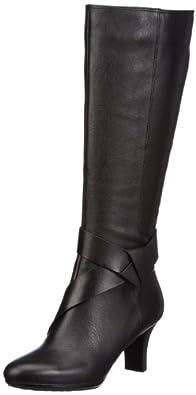 Rockport Women's Ordella Boot,Black,9.5 M US