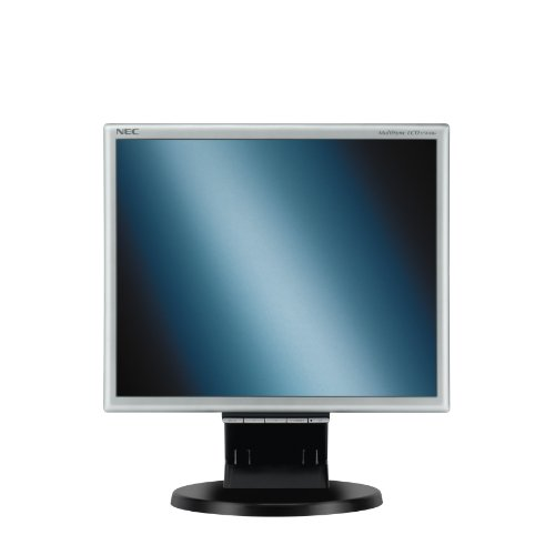 NEC Displays MultiSync LCD175M 17 inch TFT LCD monitor (1000:1, 250 cd/m², 1280 x 1024, 5ms, DVI-D (Black/Silver))