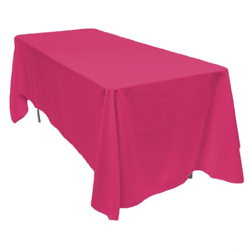 Linentablecloth 70 x 120 inch rectangular polyester for 120 inch table linens