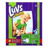 Luvs Ultra Leakguards - Jumbo Pack- sz 6- 23