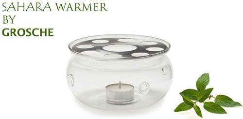 Read About SAHARA Teapot Warmer by GROSCHE; Heat proof High Quality Glass,In original Grosche brande...