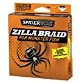 Spiderwire Zilla Braid Fishing Line 40-pound Test 300-yard Spool Moss Green by Big Rock Sports