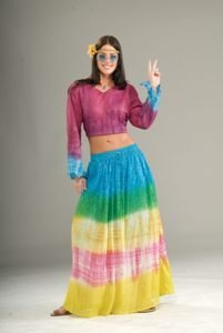 Hippie Tye Dye Skirt