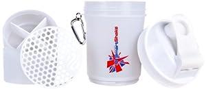 SmartShake Union Jack Edition White Shaker