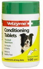 Vetzyme Dog Conditioning Tablets X 100 (Vetzyme Conditioning Tablets compare prices)