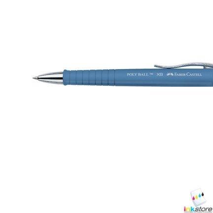 FABER-CASTELL Mine pour stylo à bille XB, bleu
