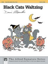Black Cats Waltzing - Piano - Early Elementary - Sheet Music
