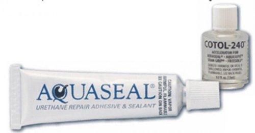 Mcnett Aquaseal 3/4 Oz. Tube & Cotol-240 1/2Oz. front-888133