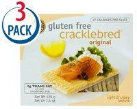Natural Nectar Cracklebred Gluten Free Original -- 3.5 oz Each / Pack of 3