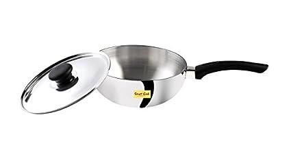 Smart Cook 83880181 Deep Fry Pan With Aluminium Lid (1.75 L)
