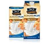 So Delicious Vanilla Almond Milk, 32 Ounce -- 12 per case.