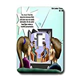 Londons Times Famous People Places Books Cartoons - CHILDREN S BOOK REVIEWS - Light Switch Covers - single toggle switch