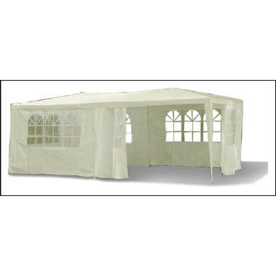 Pavillon Festzelt Gartenpavillon Bierzelt inkl. 6 abnehmbaren Seiten wasserabweisend 3 x 6 m