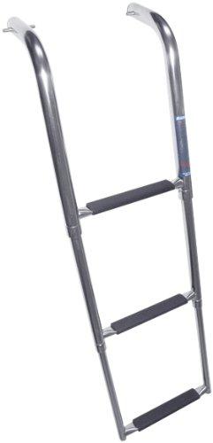 Windline Up-3X Marine Stainless Steel Under Platform Telescoping Boat Ladder