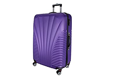 Rocklands Lightweight 4 Wheel ABS Hard Shell Luggage Set Suitcase Cabin Travel Bag ABS17 from Rocklands London