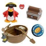 Buy Low Price Jakks Pacific Disney Club Penguin Series 1 Mix 'N Match 2 Inch Mini Figure 2-Pack Captain Rockhopper with Treasure (B001KJ9722)