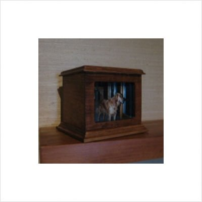 Solid Cherry Wood Forever Pet Urn Size: Large