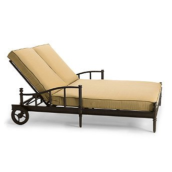 DOUBLE LOUNGE CHAIR PATIO PORCH FURNITURE CHAISE | Living Room ...