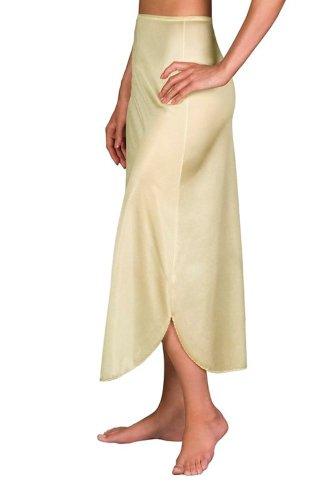 Velrose Daywear Double Slit 1/2 Slip (2116) 1X/Beige