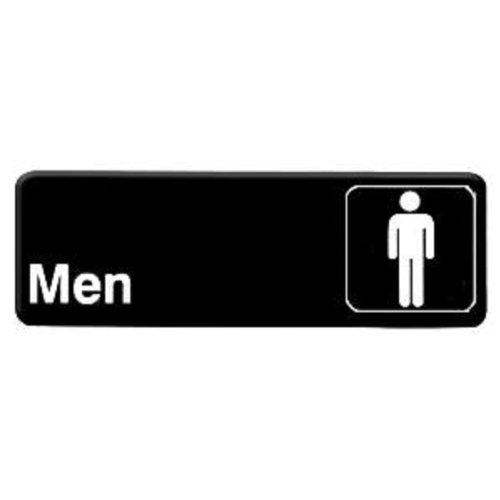 "Thunder Group 3""x9"" Restaurant Sign, Black, Men, at Sears.com"