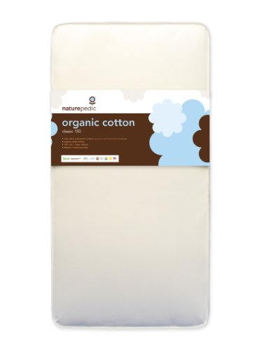 Naturepedic No Compromise Organic Cotton Classic 150 Crib Mattress
