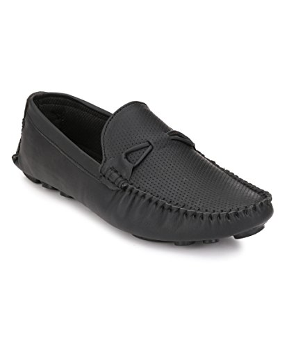 Shoe Smith Woodland Men Black Loafers Shoe available at Amazon for Rs.749