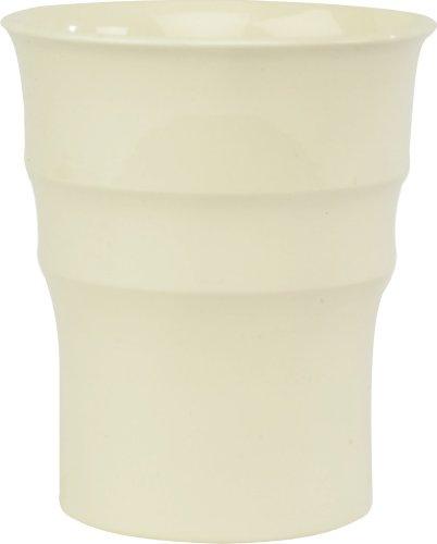 Ivyline 14115CG Orchid Pot, Cream Gloss, 13cm Internal Diameter