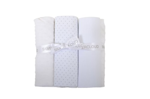 Silvercloud Bedding Bale Pram (White) front-526321